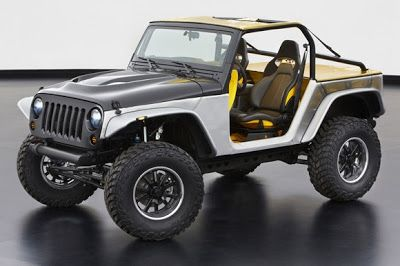 Jeep concept car desde Coevi servico oficial Jeep