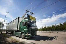 """Sweden+has+opened+the+""""World's+First+Electric+road""""+near+the+city+of+Gävle."""