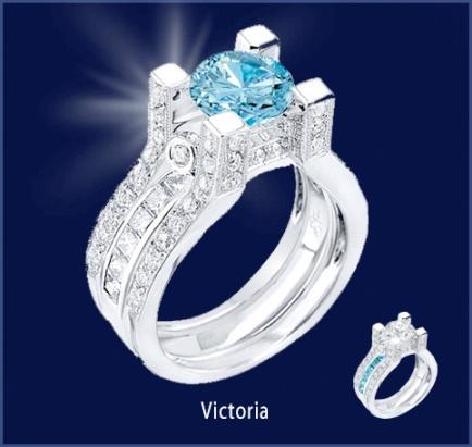 Sophia Fiori Blue Diamond 63