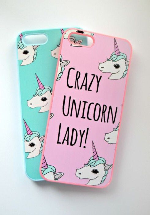 CRAZY UNICORN LADY case!!!