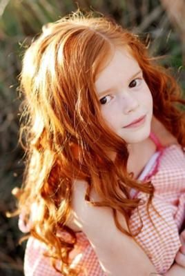little girl with red hair - Google Search
