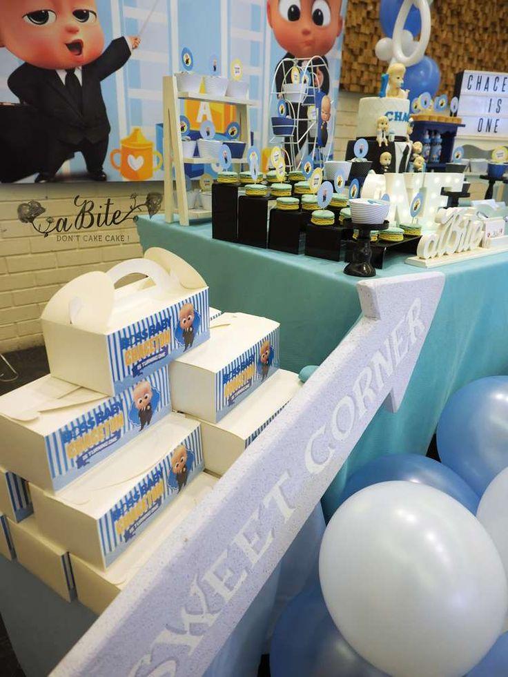 Boss Baby Birthday Party Ideas | Photo 3 of 9