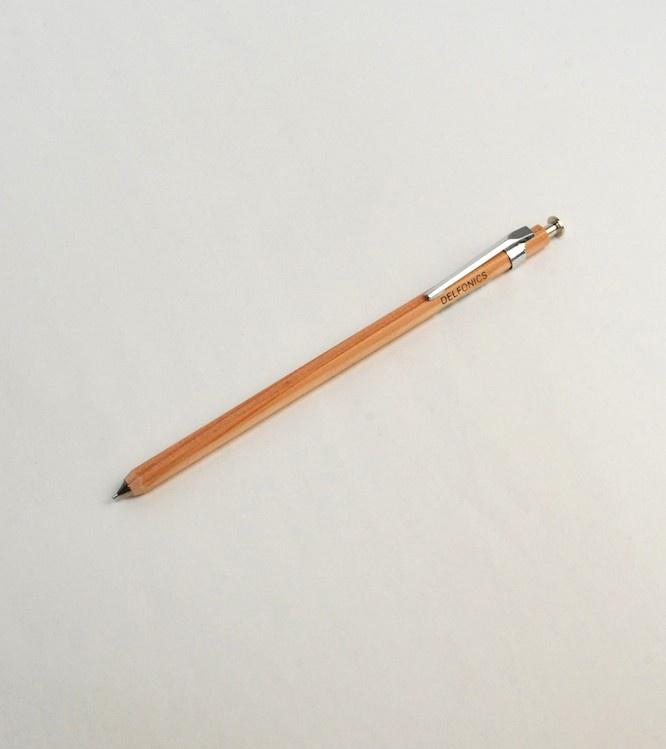 Delfonics Mechanical Wood Pencil Natural