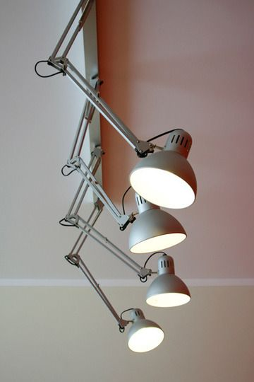 Always love ceiling or wall mounted Anglepoise