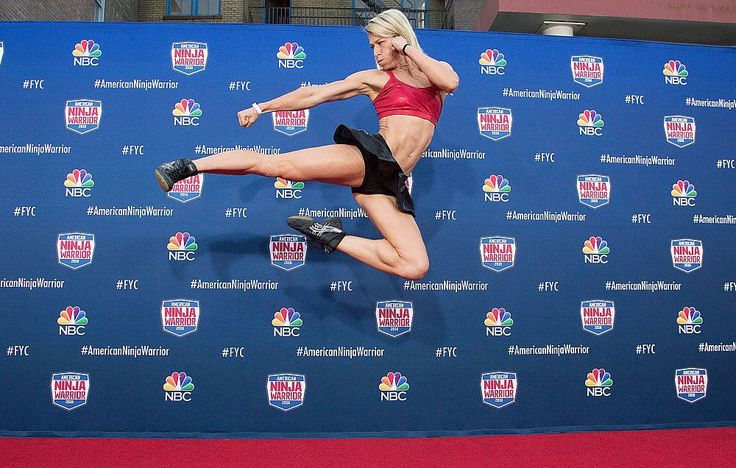 You've GOT to See Jessie Graff Become the Most Badass Woman in 'American Ninja…