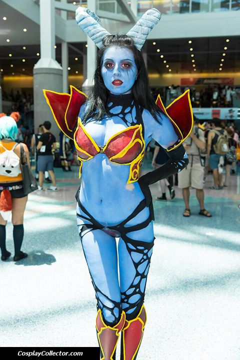 queen of pain cosplay ti4 - photo #6