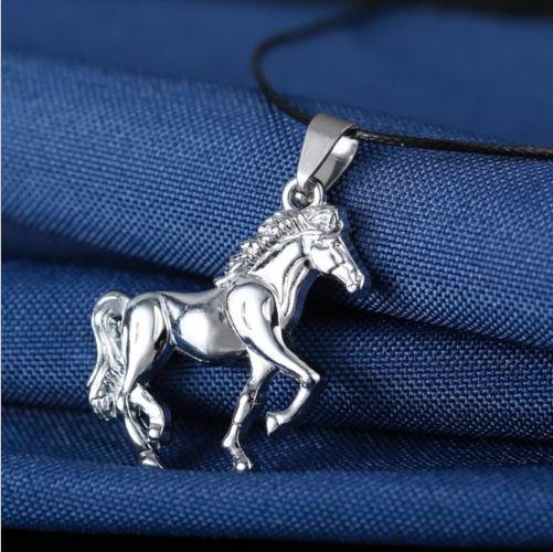 Stainless Steel Horse Pendant Necklace from My Shalu