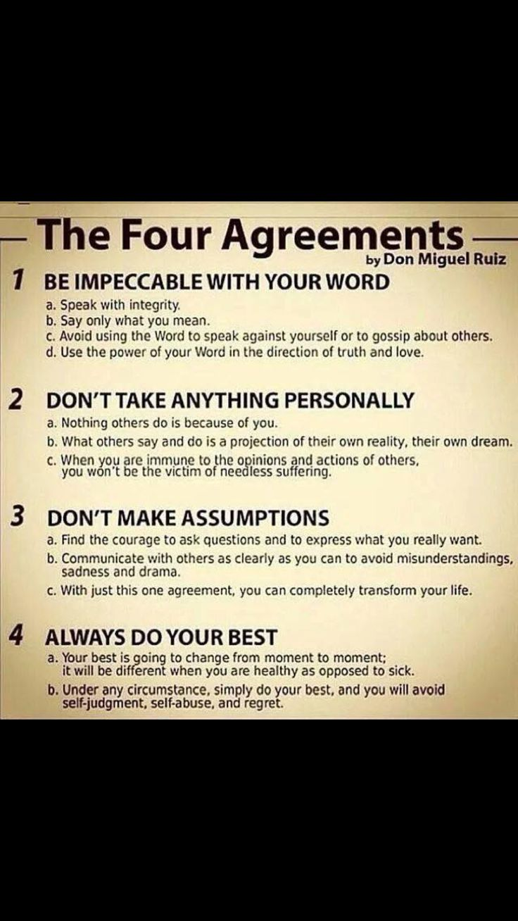 Four Agreements Quotes 255 Best For Me Images On Pinterest  Thoughts Qoutes And Quotations
