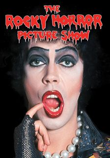 """That moment when Frankenfurter (Tim Curry) comes down the lift, sings """"Sweet Tranny"""" and closes with """"...antici......pation..."""" Classic,"""
