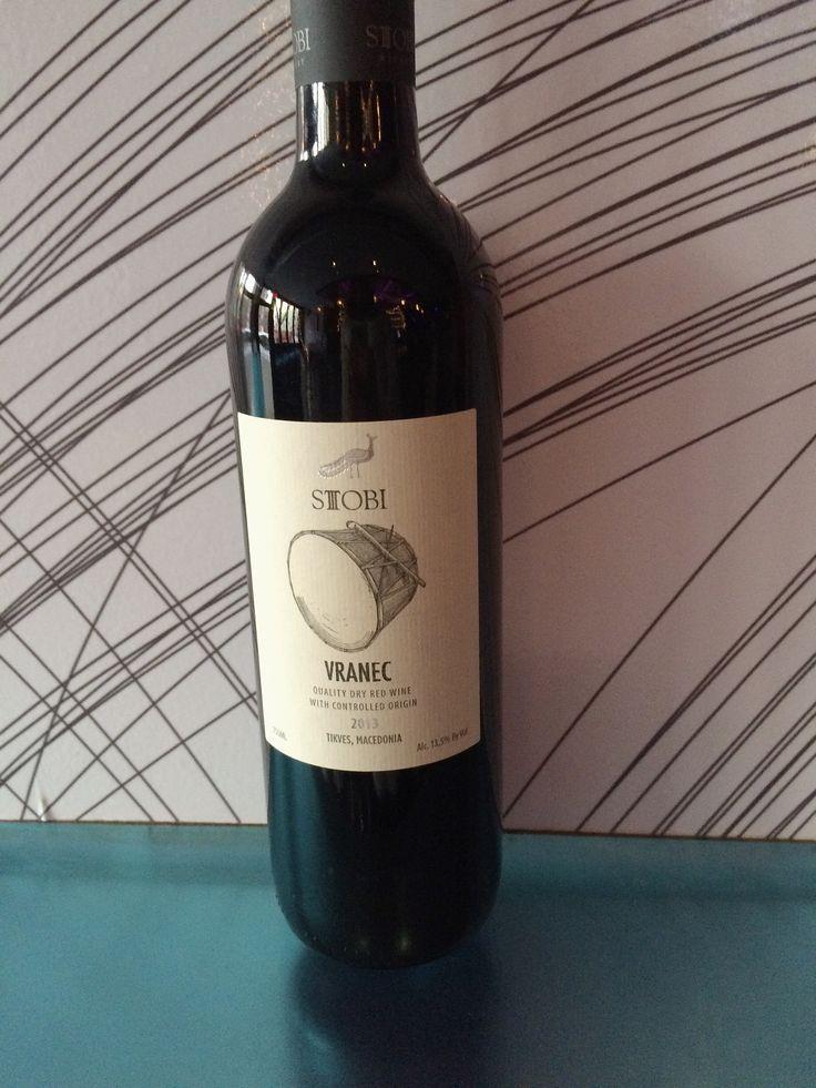 Vranec, Stobi, Macedonia - Juicy & aromatic! Earthy & woodsy. A drinking wine.