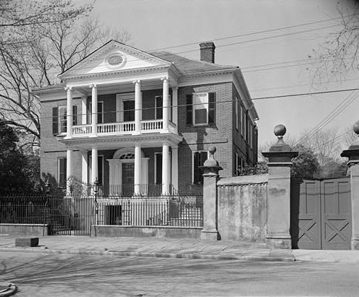 The Miles Brewton House in Charleston. My inspiration for the Bennets' townhouse.