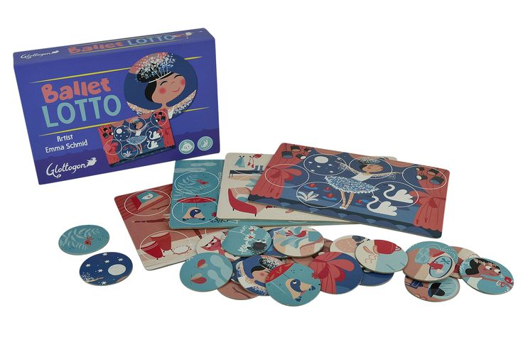 Lotto for the kids - and gorgeous illustrations!