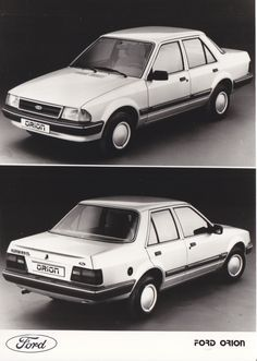 Ford Orion, Factory Press Photo.                              …
