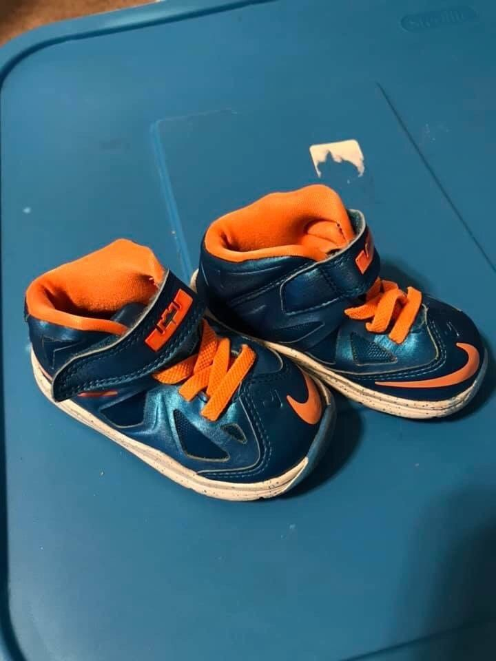 watch 0acad 40ee1 Infant Lebron James Shoes Size 5c #fashion #clothing #shoes ...