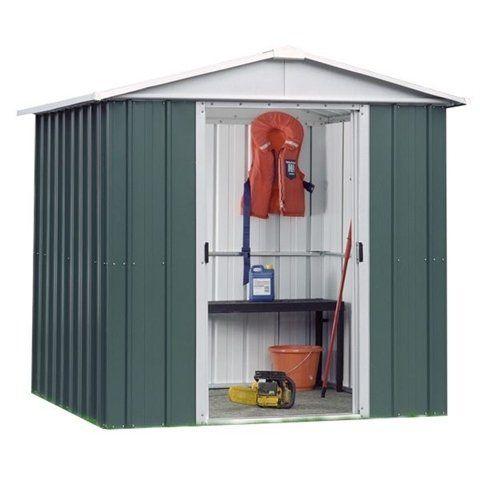 belfast 75 x 610 geyz apex metal shed with free - Garden Sheds Belfast