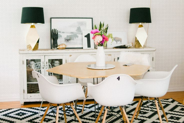 Interior Design: Gorgeous Dining Room by Hello Lidy - Pink Peppermint Design