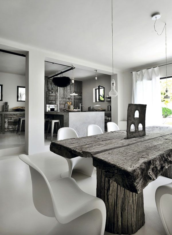Desire to inspire sedia panton for Decorare sedia legno