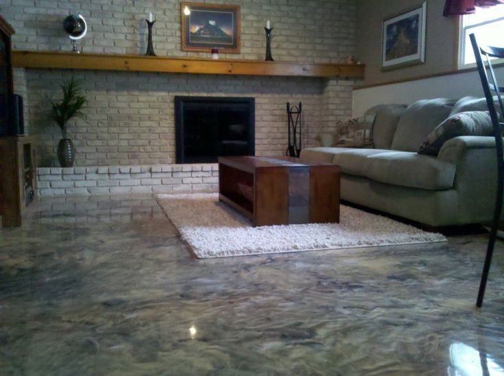 Reflector Enhancer Metallic Epoxy Floor Ohio Decorative