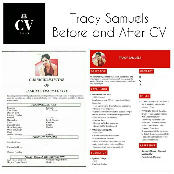 Revamp Your CV Stand out from the crowd. Revamp your CV