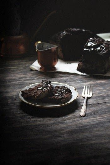 Oatgasm: Montag Musings & Double Chocolate Zucchini-Brot w / Mocha Glaze