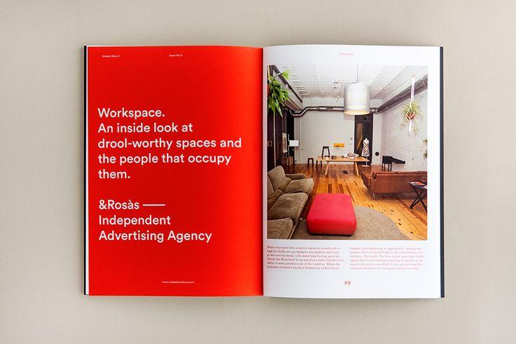 Ninety Nine U magazine - Editorial Design   Abduzeedo