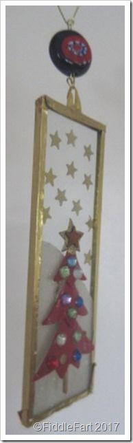 Christmas Tree Microscope Slide decoration 4