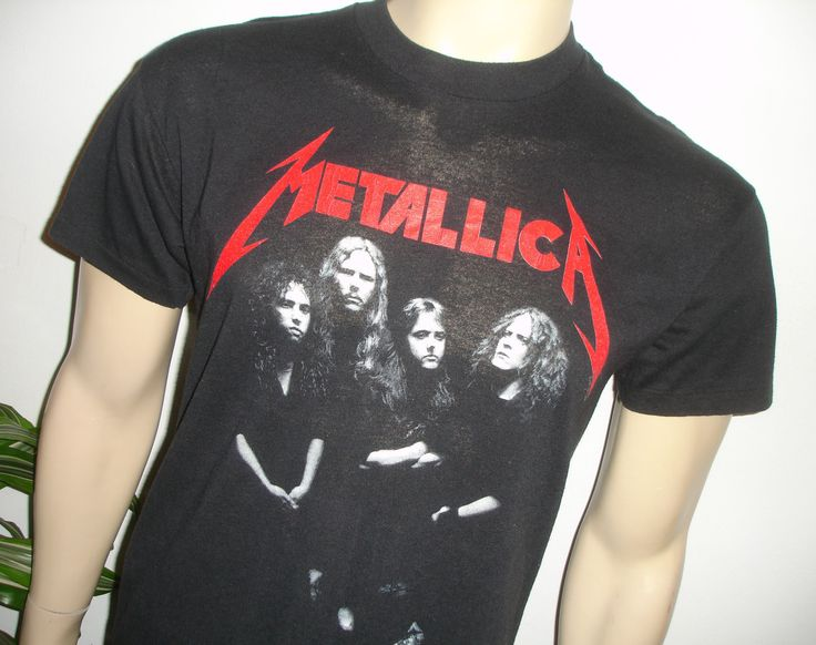rare 1988 metallica vintage metal rock concert tour t. Black Bedroom Furniture Sets. Home Design Ideas