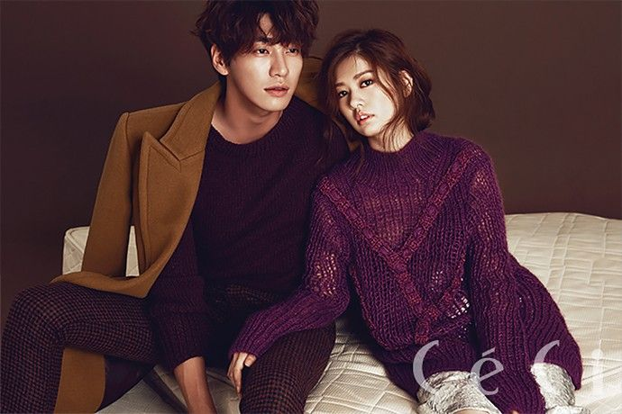 Kim Young Kwang & Jung So Min Are Fashionable & Loved Up In CéCi's Pages