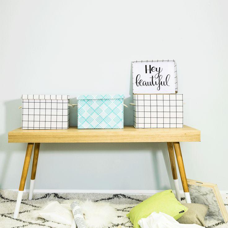 Arredate casa con creatività: seguite il nostro fai da te per realizzare delle scatole rivestite di tessuto originali e divertenti.