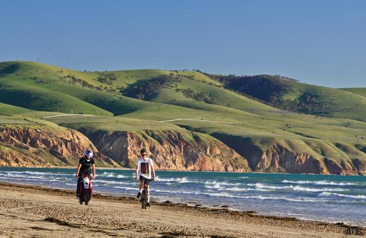 Aldinga beach, South Australia....I think Megan will be here next summer. :)