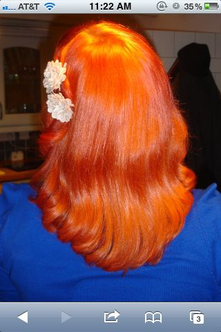 ***The best cut to create most vintage styles, The Middy -MV***