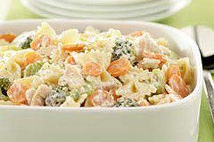 Low-Fat Summertime Tuna Pasta Salad recipe