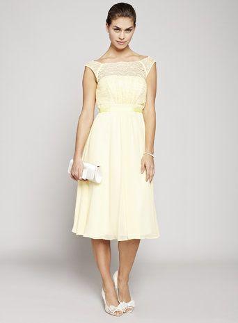 Lemon Chloe Bridesmaid Dress