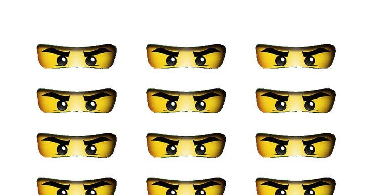 Ninjago Eyes Printable