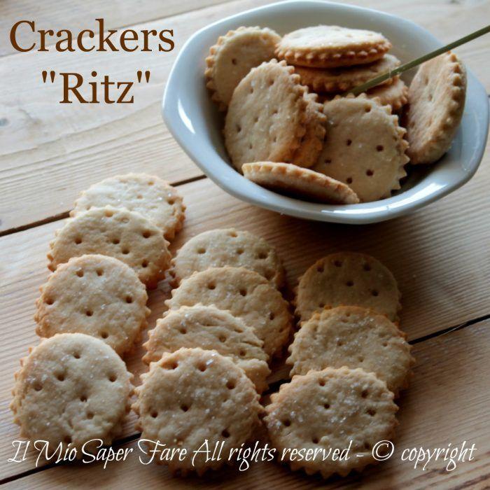 Crackers tipo Ritz fatti in casa gustosi e croccanti ricetta facile