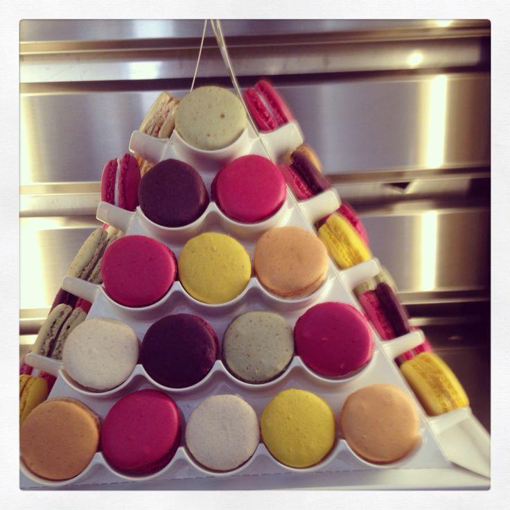 Pyramid of macarons