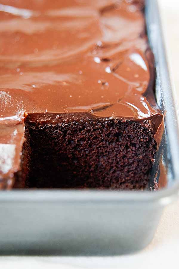 Extra Rich Chocolate Frosting Recipe Simplyrecipes Com Recipe Sour Cream Chocolate Cake Sour Cream Cake Chocolate Cake Recipe With Sour Cream