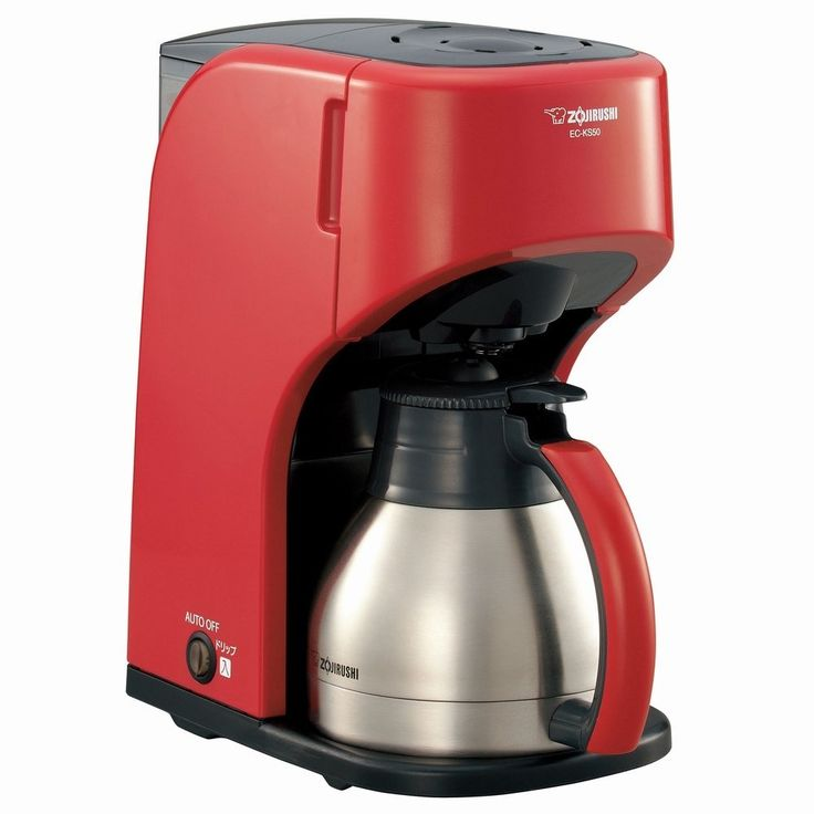 ZOJIRUSHI coffee makers [Cup approximately 1-5 World Cup] EC-KS50-RA Red -- Awesome product. Click the image : Coffee Maker