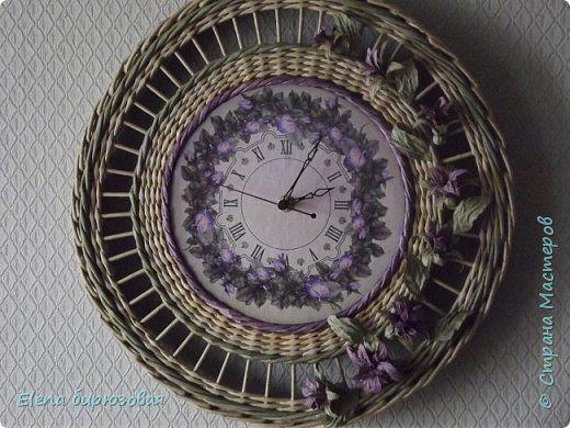 Декор предметов Интерьер Плетение Тик-так часики   Бумага газетная Трубочки бумажные фото 31