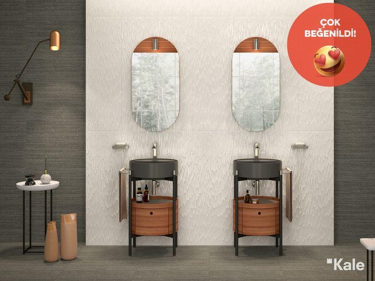 Icon Mini serisi küçük banyolar için sunduğu şık ve fonksiyonel mobilyalarıyla #çokbeğenildi  #Kale #banyo #dekorasyon #haftanınfavorisi #favoritebathrooms #tasarım #dekorasyonönerileri #bathroom #design #designideas #bathroomdesign #bathroomideas