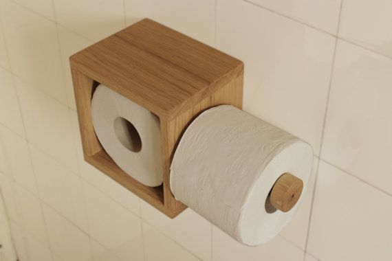Toilet paper holder WC paper holder by serialDESIGNER on Etsy