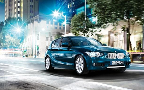 La BMW Série 1 cinq portes est une interprétation jeune et spontanée du design BMW.