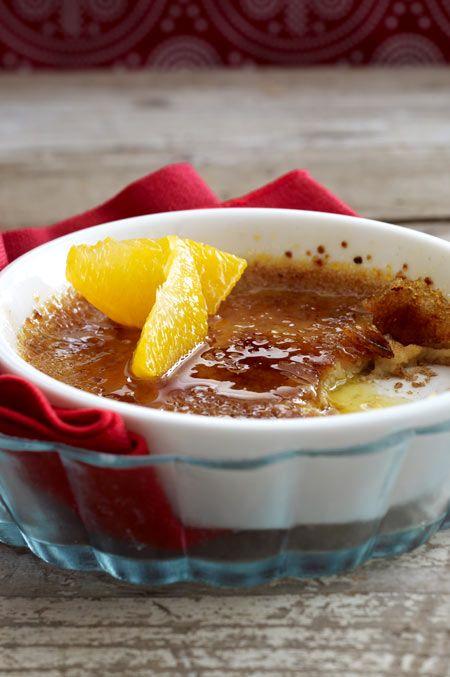 Der Klassiker ganz neu: Himmlische Crème brûlée mit feinem Lebkuchenaroma.