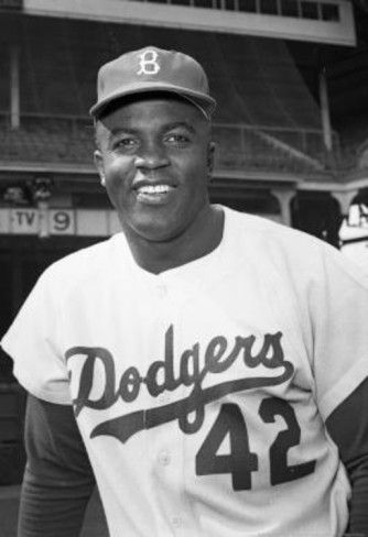 ~~Jackie Robinson #42~~  My fav from back in the Brooklyn Dodger days at Ebbetts Field!