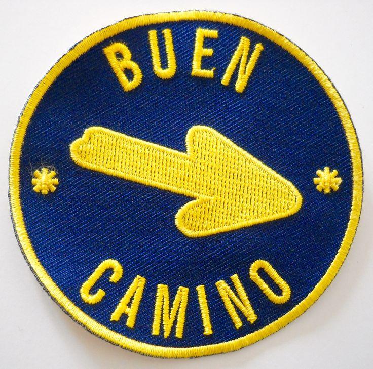 Camino De Santiago Buen Camino Pilgrim Arrow Cloth by SpanishDoor