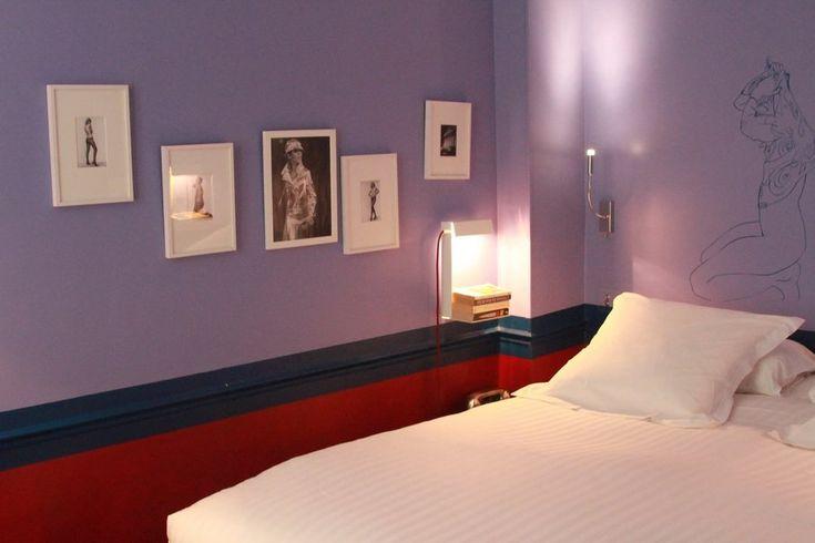 Chambre Violet Orange | Photo Chambre Et Gris Et Mauve : Déco