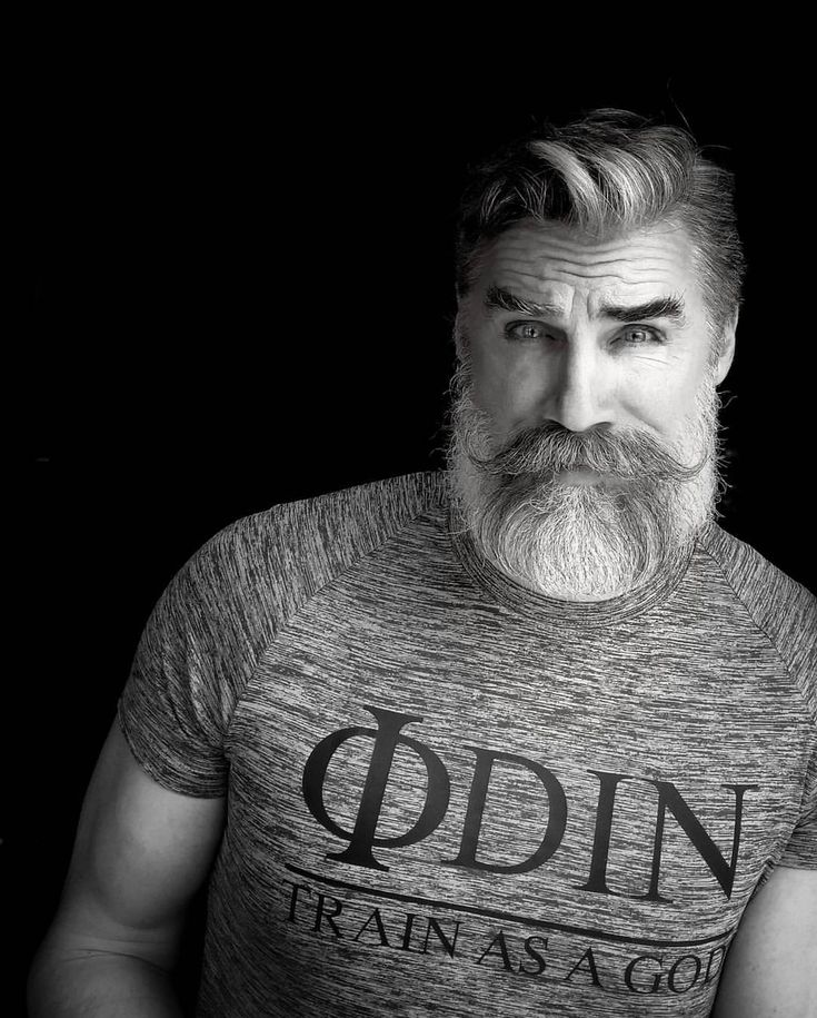 "102 Likes, 2 Comments - Odin Gear® | Train As A God (@odin.gear) on Instagram: ""Age is just a number. #whitemilkmoustache  Model: @berzinsky"""