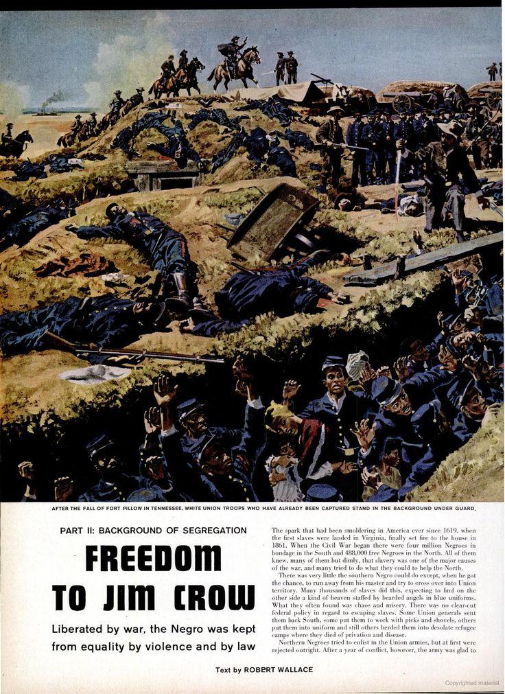 "LIFE magazine, 10 Sept. 1956, ""Background to Segregation Part II: Freedom to Jim Crow"", p.96"