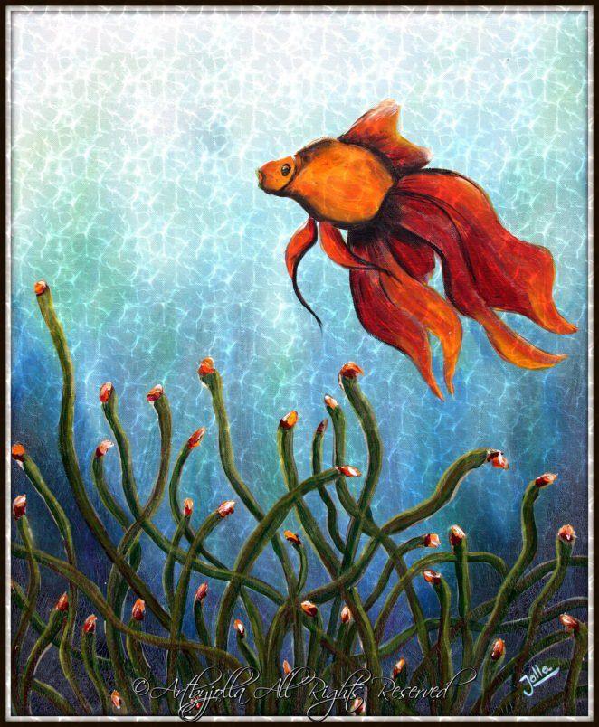 Goldfish..by ©Artbyjolla