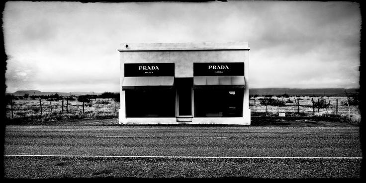Prada Installation Marfa, TX